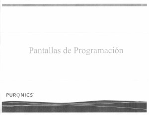 Pantallas de Progamacion (pagina 1)